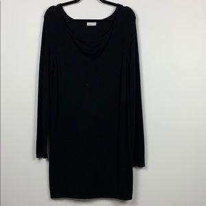 Vero Moda Black Hause Cowlneck Dress